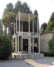 Monumento funerario Bai, Cementerio Monumental, Bérgamo (1947)
