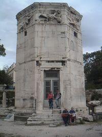 Torre de los Vientos en Atenas.