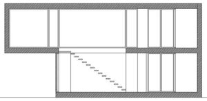 sección longitudinal 2