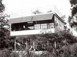 Casa de fin de semana Kocher Canvas]], Nueva York (1933-1934) junto con Lawrence Kocher.