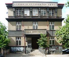 Escuela de Arquitectura, Praga (1919-1920)