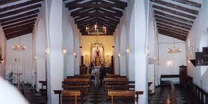 Ermita de la Ina Vista interior
