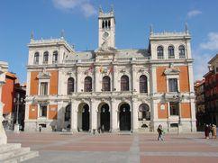 Casa Consitorial en la Plaza Mayor de Valladolid (1892-1908)