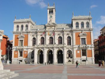 La actual Casa Consistorial de Valladolid.