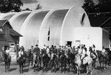 Escuela de Equitación Mattsson, Klampenborg (1934)