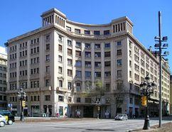 Sede de Fomento del Trabajo, Barcelona (1933), junto con Adolfo Florensa