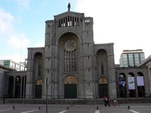 Fachada de la Catedral de la Santísima Concepción.