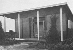 Casa de fin de semana en madera (1927)