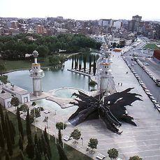 Parque de la España Industrial, Barcelona (1983)