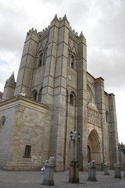 Ávila Chatedral main view.jpg