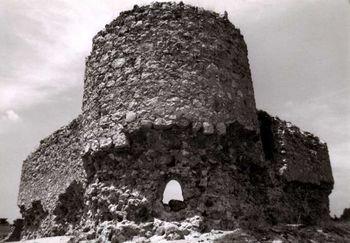 Castillo de La Alameda, en una imagen de 1988.