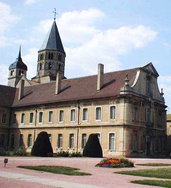 La abadía de Cluny en la actualidad.