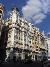 Hotel Atlántico, Madrid (1921-1923)