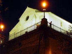 Iglesia de San Pedro, sobre el cabezo de mismo nombre.
