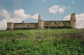 Vista del castillo de Chinchón.