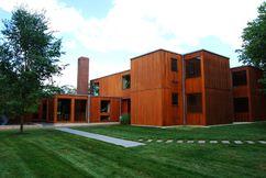 Casa Korman, Fort Washington, Estados Unidos (1971-1973)