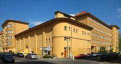 Berlin, Mitte, Rosa-Luxemburg-Strasse 30, Wohnanlage und Kino Babylon 01.jpg
