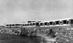 Hotel Xenia, Miconos (1958-1959)