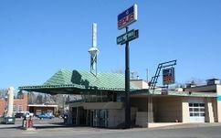 Estación de servicio Lindholm, Cloquet, EE. UU.(1956-1958)