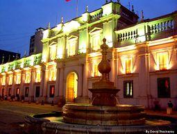 Frontis Palacio Presidencial La Moneda