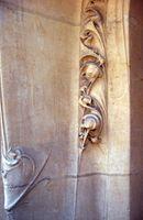 Hector Guimard - El pórtico del edificio Jassedé - 1903