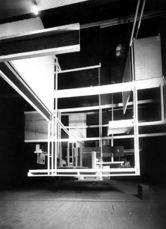 Ciudad del espacio, en el pabellón de Austria, Exposición Internacional de las Artes Decorativas e Industriales Modernas, París (1925)