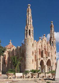 Vista del Santuario de Santa María Magdalena