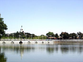 Vista de una parte de Zhongnanhai