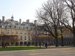 Place des Vosges vista 1.