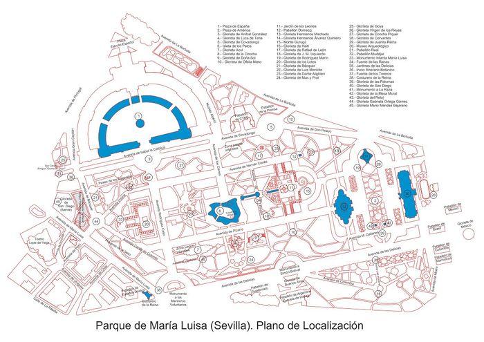 Parque de Maria Luisa.Sevilla.Plano.jpeg