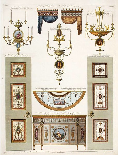 Archivo:Robert and James Adam. Details for Derby House in Grosvenor Square. Published 1777.jpg