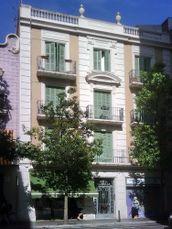 Edificio de viviendas en calle Galileu, Barcelona (1929-1930)