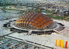 Palacio de Deportes, Ciudad de México, México. (1965-1968)