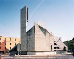 Iglesia de San Norberto, Berlín (1960-1962), junto con Hermann Fehling