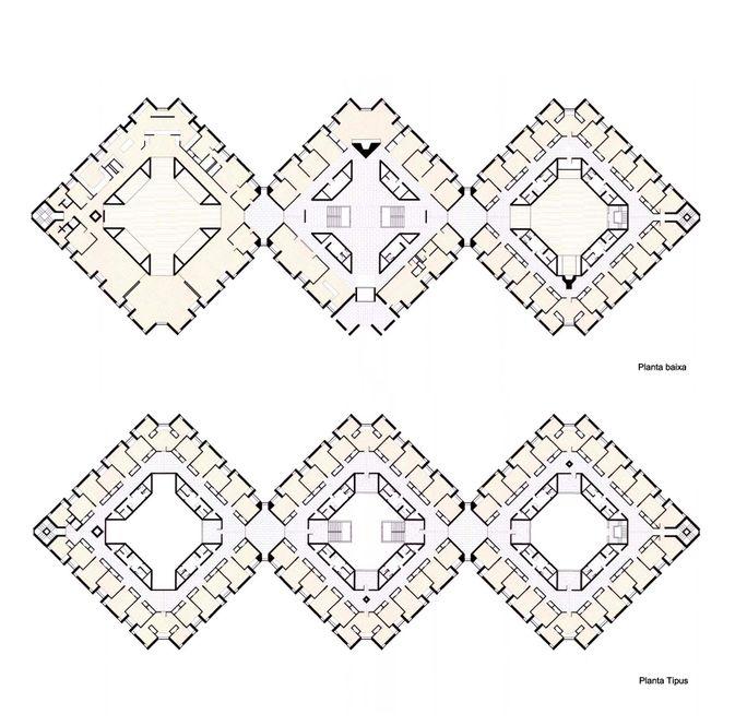 Louis Kahn.Alojamiento Erdman Hall.Planos1.jpg