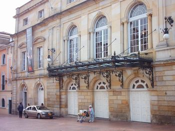 Fachada del Teatro Colón.