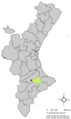 Localització d'Alfafara respecte el País Valencià.png