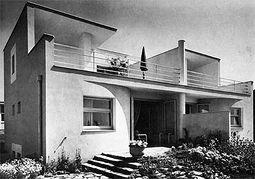 Oskar Strnad: Casas 13 y 14. antes Engelbrechtweg 5 - 7