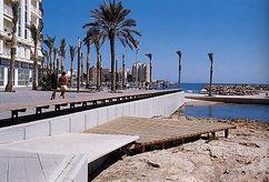 Paseo marítimo de Torrevieja (1996-2000)