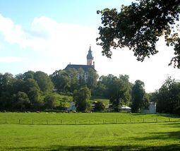 """La """"Heilige Berg"""" (monte santo) desde el Norte"""