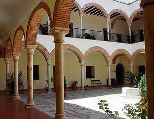 Patio de la Casa Consistorial de Zafra