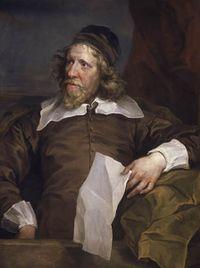 Iñigo Jones, por Anthony van Dyck.