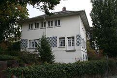 Casa propia , Mathildenhöhe, Darmstadt (1900-1901)