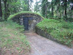 Cripta para las urnas