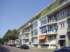 Edificio de viviendas en Voorschoterlaan, Rotterdam (1946-1949)
