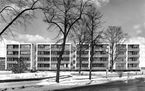 Viviendas en Klopstockstrasse 19-23 de Wassili Luckhardt y Hubert Hoffmann