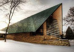 Casa de Reuniones de la Primera Sociedad Unitaria, Shorewood Hills, EE. UU.(1949-1951)