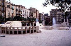 Plaza de San Juan, Lérida (1982)