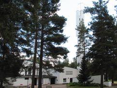 Iglesia de las Tres Cruces, Imatra (1955-1958)