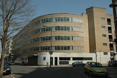 Olympic Garage, Londres (1935-1936)